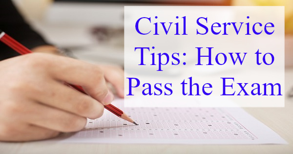 civil service tips