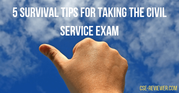 5 Survival Tips for Taking the Civil Service Exams (1)